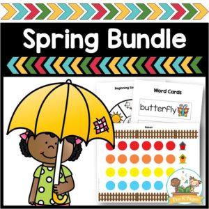 Pre-K Spring Themes Mega Bundle