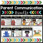 Parent Communication Bundle for Preschool and Pre-K