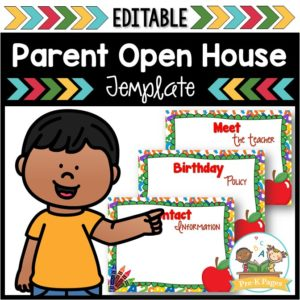 School Theme Open House PowerPoint