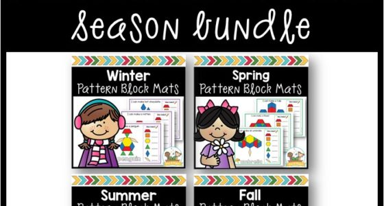 Season Pattern Block Mats Bundle