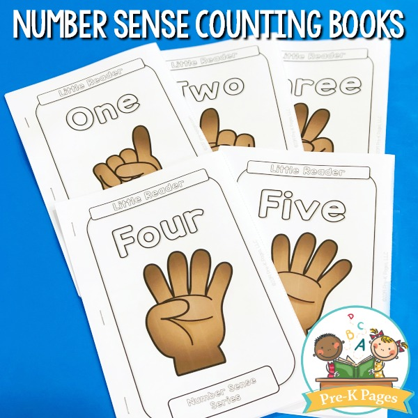 Counting Number Books for Preschool