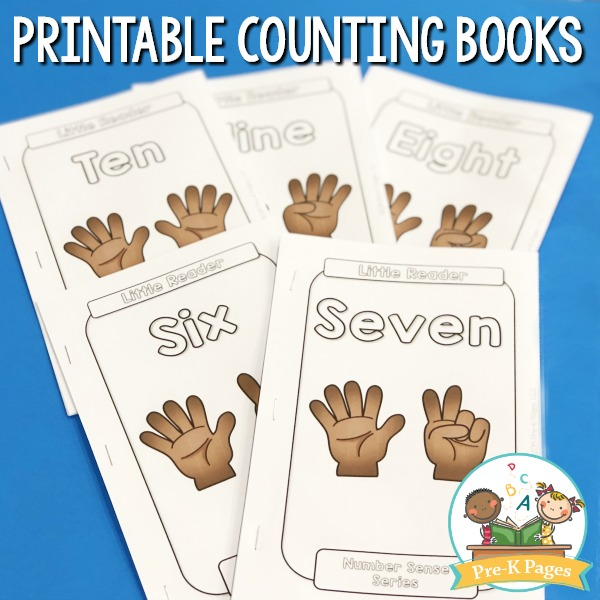 Number Sense Counting Books