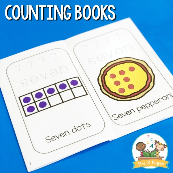Printable Counting Books