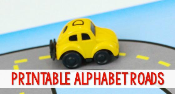 Printable Highway Roads