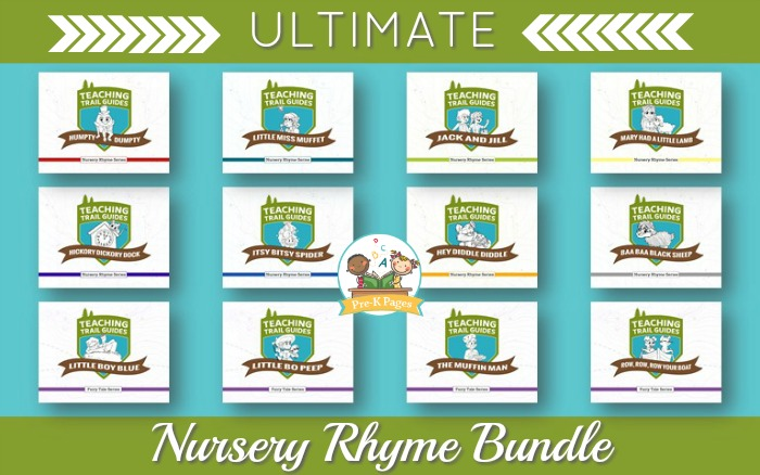 Nursery Rhyme Bundle for Preschoolers