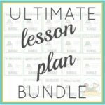 Pre-K Lesson Plan Bundle