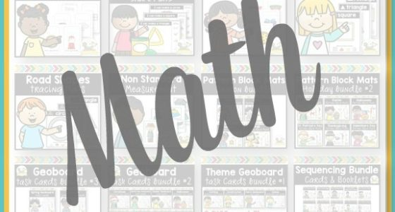 Ultimate Pre-K Math Bundle