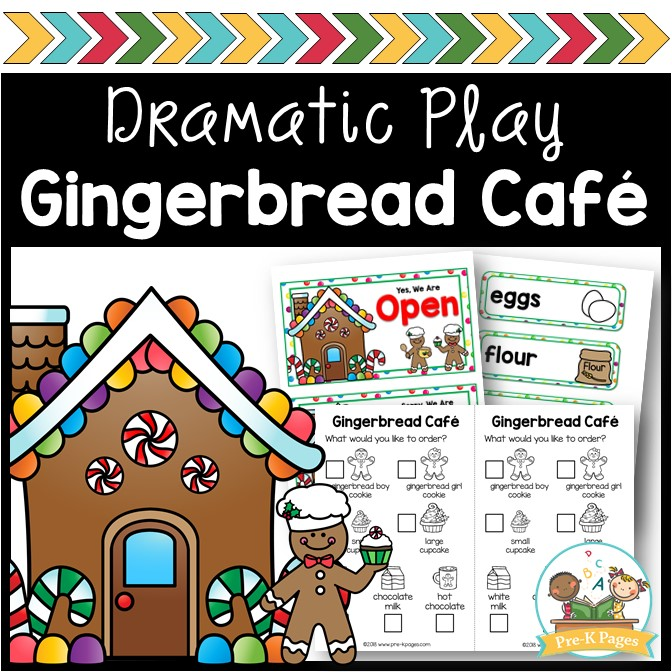 Gingerbread Cafe Dramatic Play