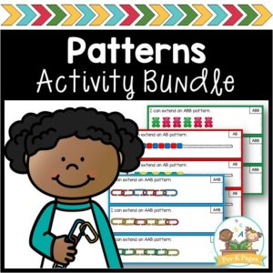 Patterns Unit for Preschool