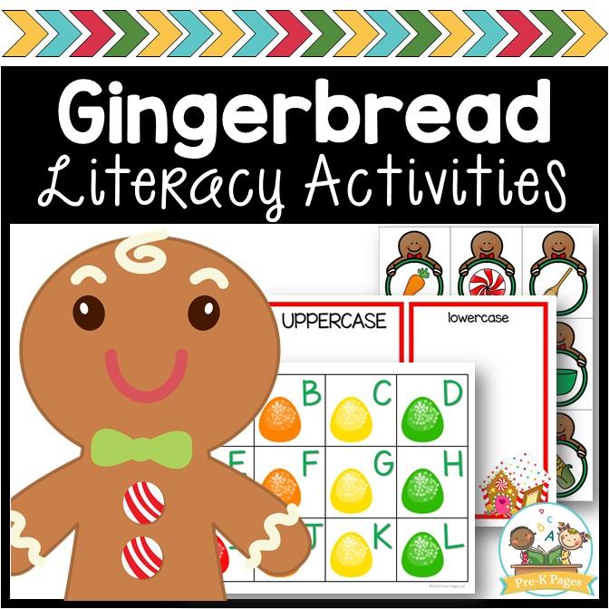 Gingerbread Literacy Activities