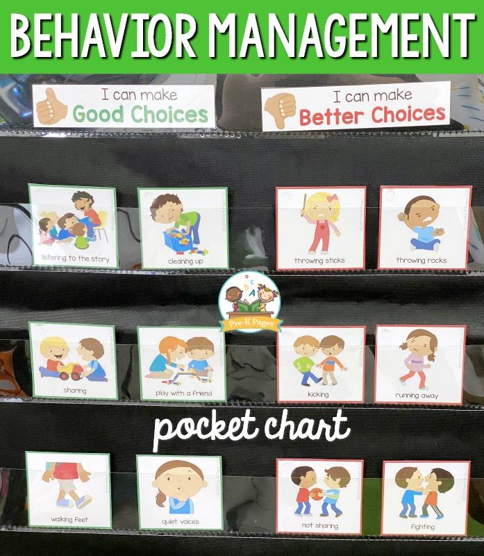 Behavior Management Pocket Chart