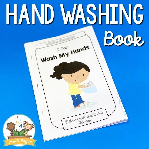 Hand Washing Book for Preschool and Kindergarten Kids