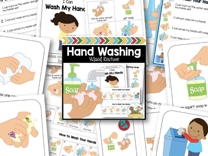Teaching Preschool Kids to Wash their Hands