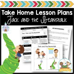 Take Home Lesson Plans – Jack and the Beanstalk
