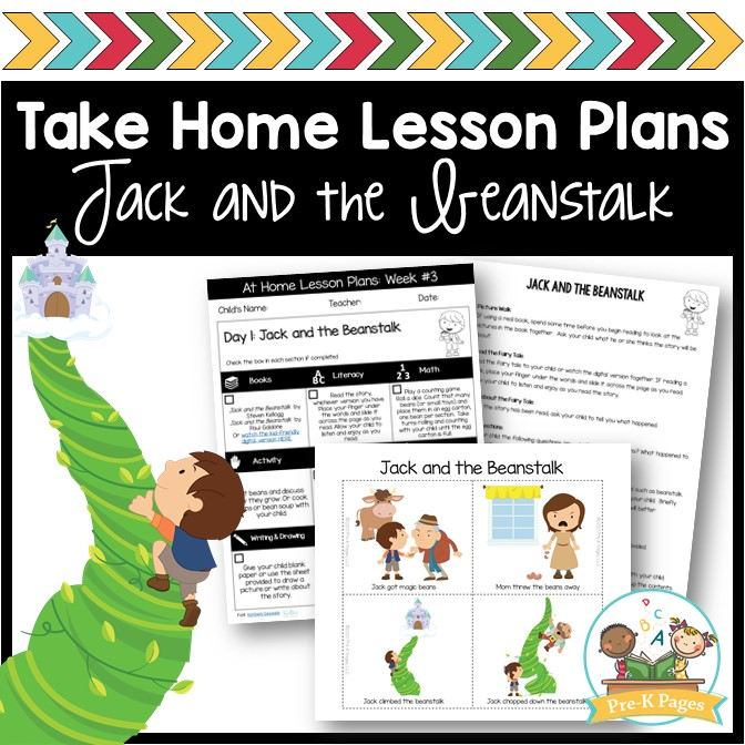 Preschool at Home Lesson Plans Week 3
