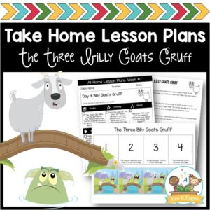 Take Home Lesson Plans Three Billy Goats