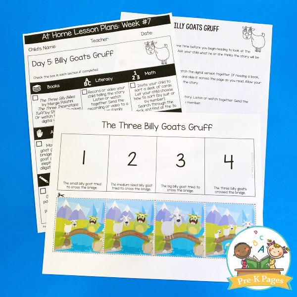 Three Billy Goats Gruff Lesson Plans