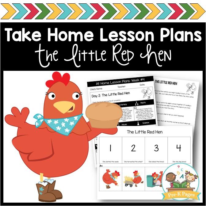 Take Home Lesson Plans Week 4