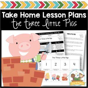 Take Home Lesson Plans – 3 Pigs