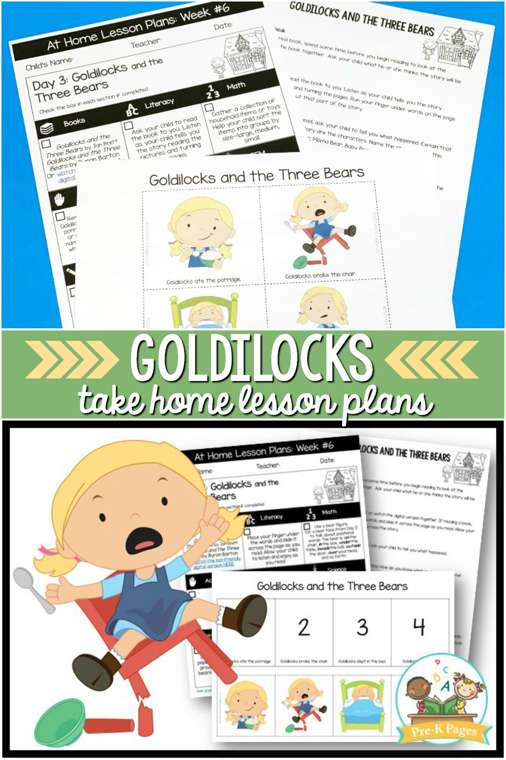 Goldilocks and the Three Bears Lesson Plans