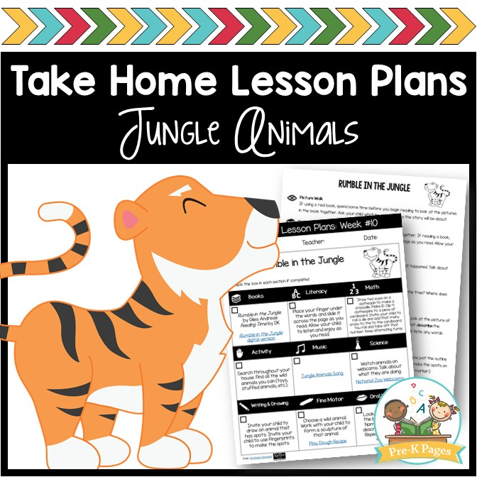 Jungle Lesson Plans