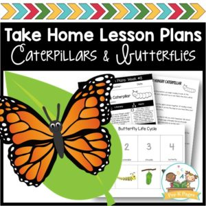 Take Home Lesson Plans Caterpillars