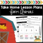 Take Home Lesson Plans Farm
