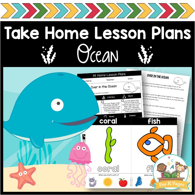 Ocean Take Home Lesson Plans