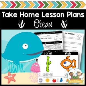 Take Home Lesson Plans Ocean