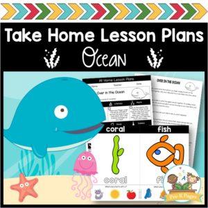 Take Home Lesson Plans Ocean