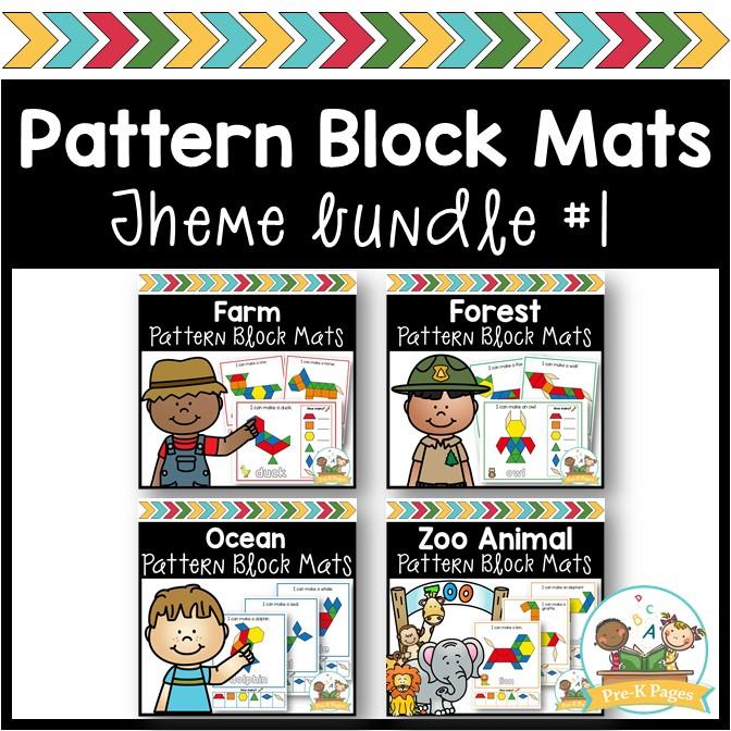 Theme Pattern Block Mats Bundle