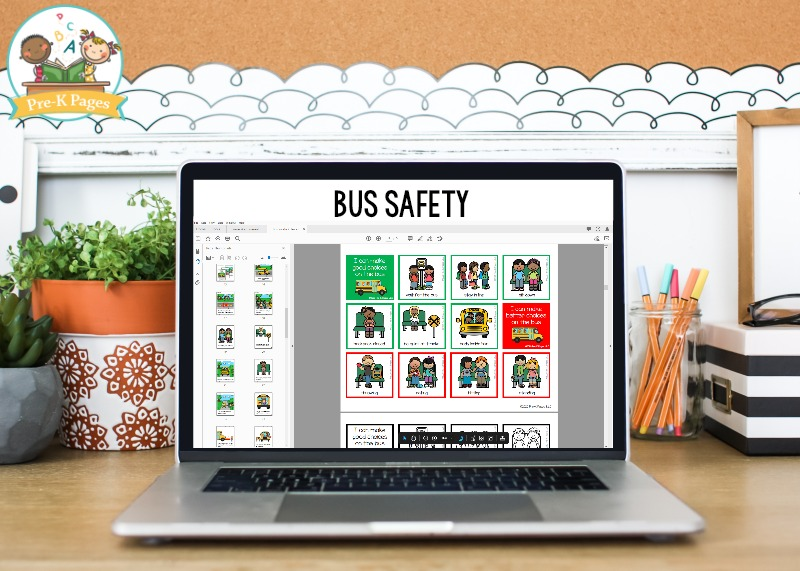 Bus Safety Rules for Preschool