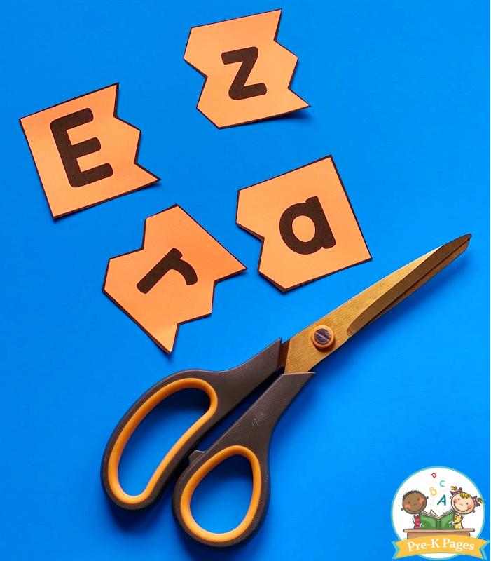 Easy Name Practice Puzzles
