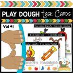 Play Dough Task Cards Vol 1