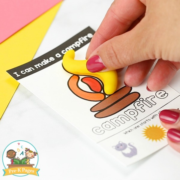 Play Dough Task Cards