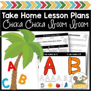 Take Home Lesson Plans – Alphabet