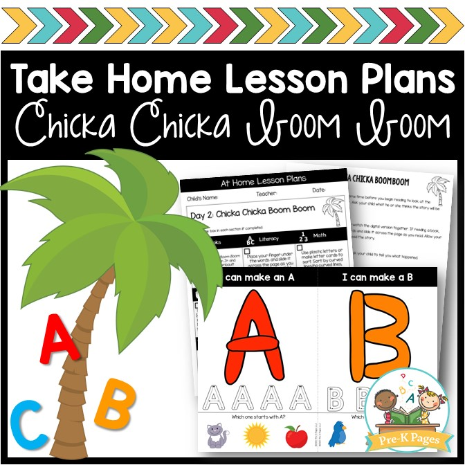 Take Home Lesson Plans Alphabet