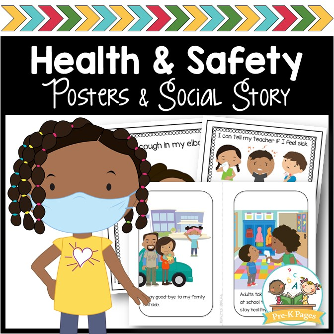 Preschool Health and Safety Posters COVID
