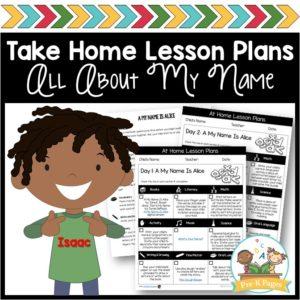 Take Home Lesson Plans – Names