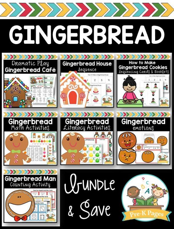Gingerbread Activities for Preschoolers