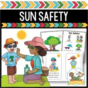 Sun Safety for Preschool and Pre-K