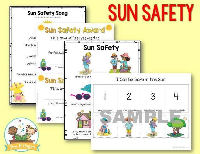 Sun Safety Lesson for Preschool