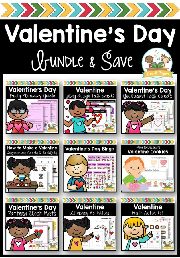 Valentine Theme Activities for Preschoolers
