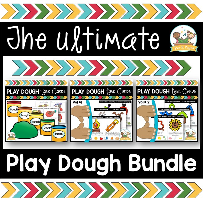 Play Dough Activities for Preschoolers
