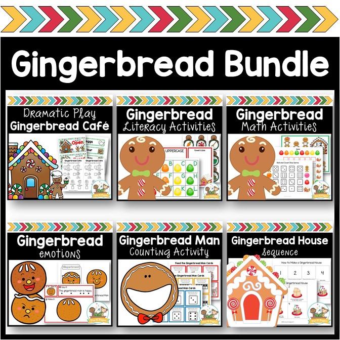 gingerbread Theme Activities for Preschool Kids