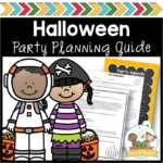 Halloween Party Printable Notes and Planning Guide