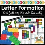 Building Brick Task Cards