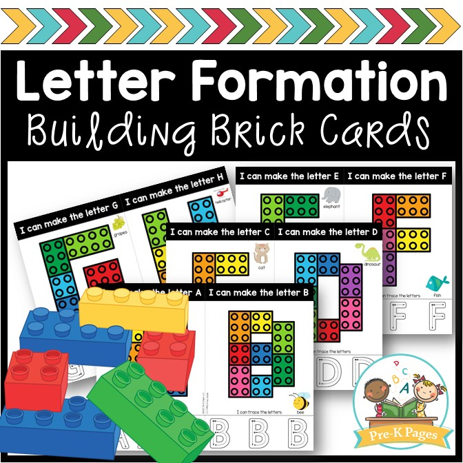 Building Brick Task Cards