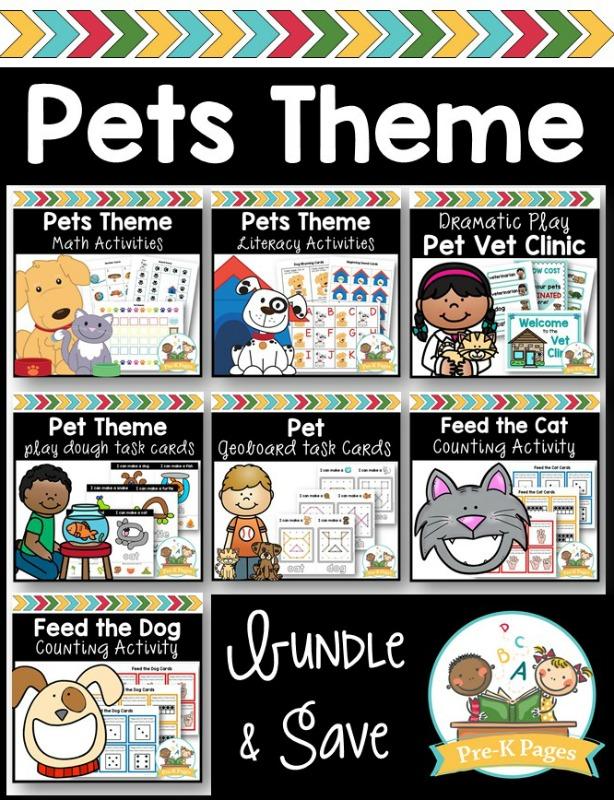 Pet Theme Activities for Preschool
