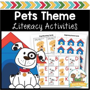 Pet Theme Literacy Activities